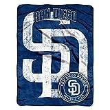 "MLB San Diego Padres Triple Play Micro Raschel Throw, 46"" x 60"""