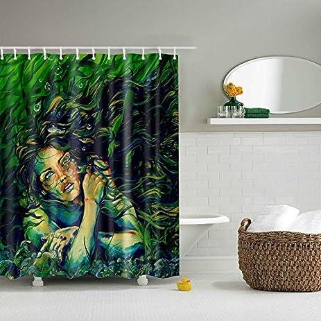 RW2 Azorie Mermaid Shower Curtain