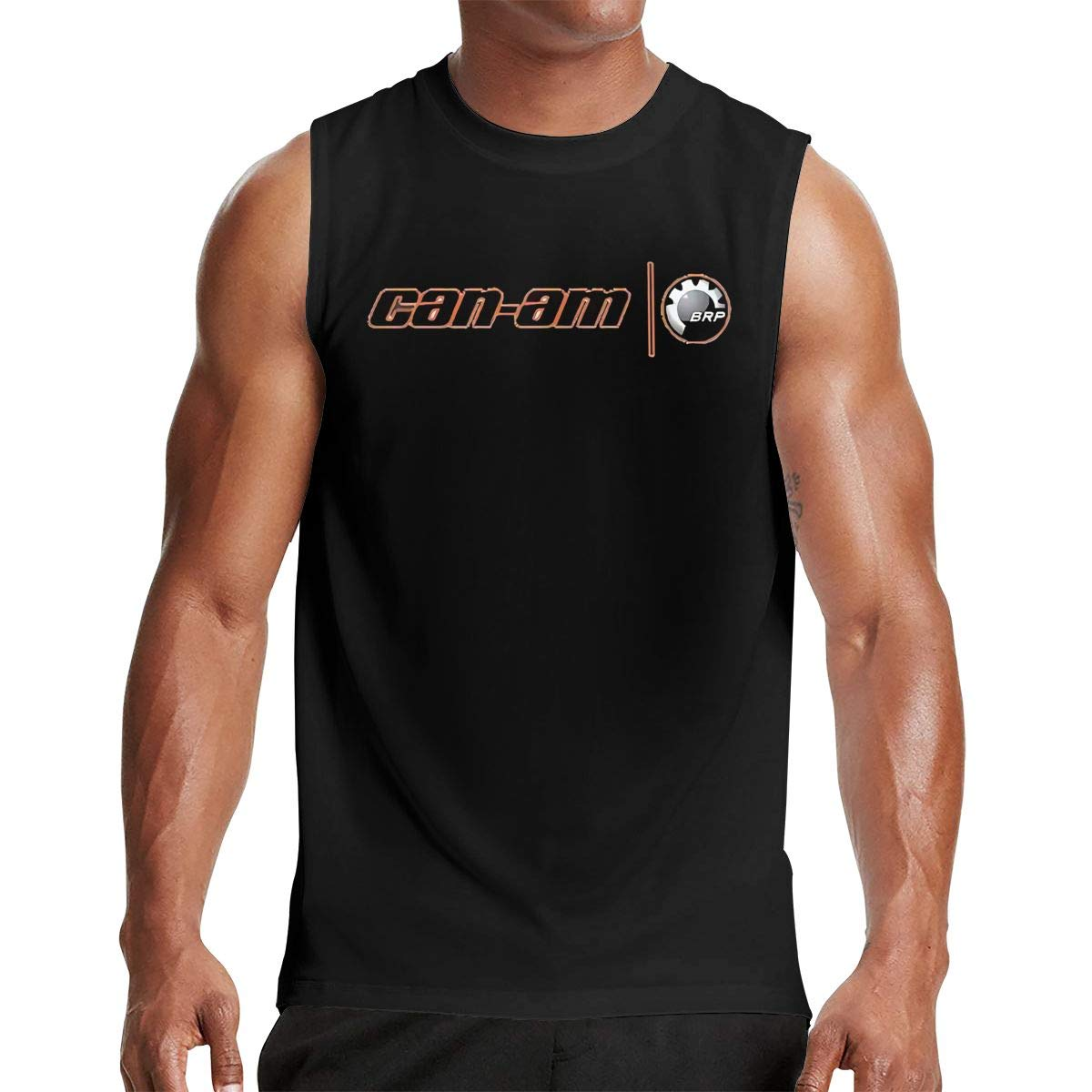 Thomlarryca Can Am Spyder S Gym Muscle T Shirt Classic Athletic Sleeveless T Shirts Bl
