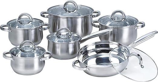 Amazon.com: Heim Concept 12 piezas de conjuntos de cocina ...