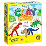 Creativity For Kids Dinosaurios de plastilina Toy Figure