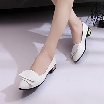 1c69d7d56175 Amazon.com  Hemlock Women Office Shoes Flats Sandals Soft Wedding Flats  Lady Boat Wedge Shoes (US 6.5