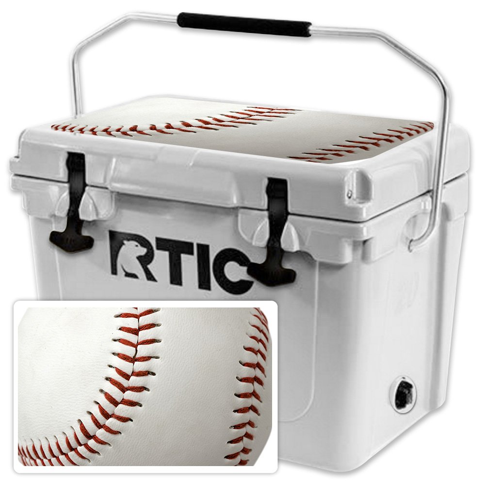 Piel para Rtic 20 Cooler tapa (2017 modelo) - baseball ...
