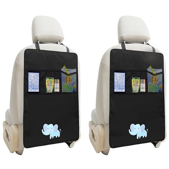 54 opinioni per ZUOAO 2 Pezzi Protezione sedile Auto per Bambini Auto con Tasche, Protettori di