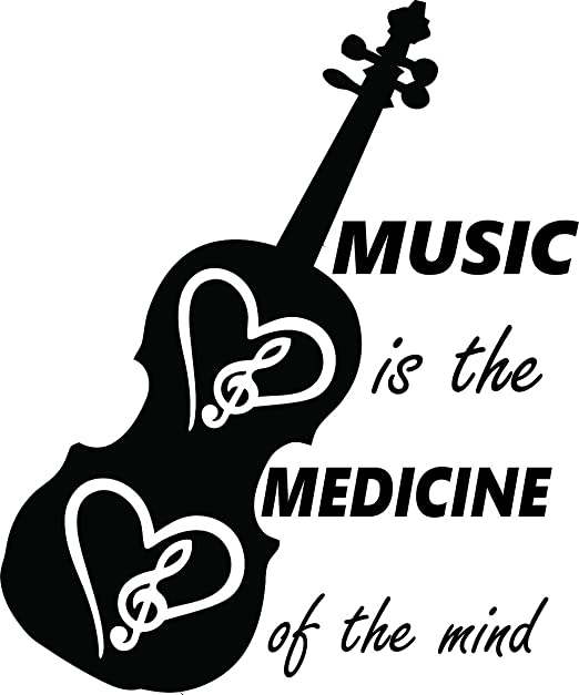 com music medicine quote guitar heart design look girls