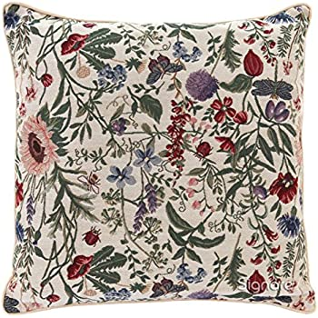 GROOTEY Decorative Cotton Square Set of 2 Pillow Case Covers Closing for Home Sofa Decor Size 16X16Inch Costom Pillowcse Throw Cover Cushion,Halloween Swirl Colored Lines 3D 20X20, Multi 9