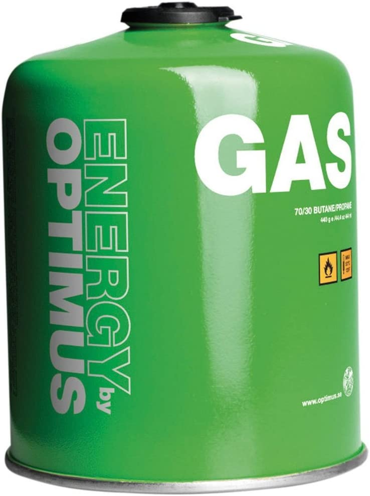 Optimus self-sealing gas cartridge
