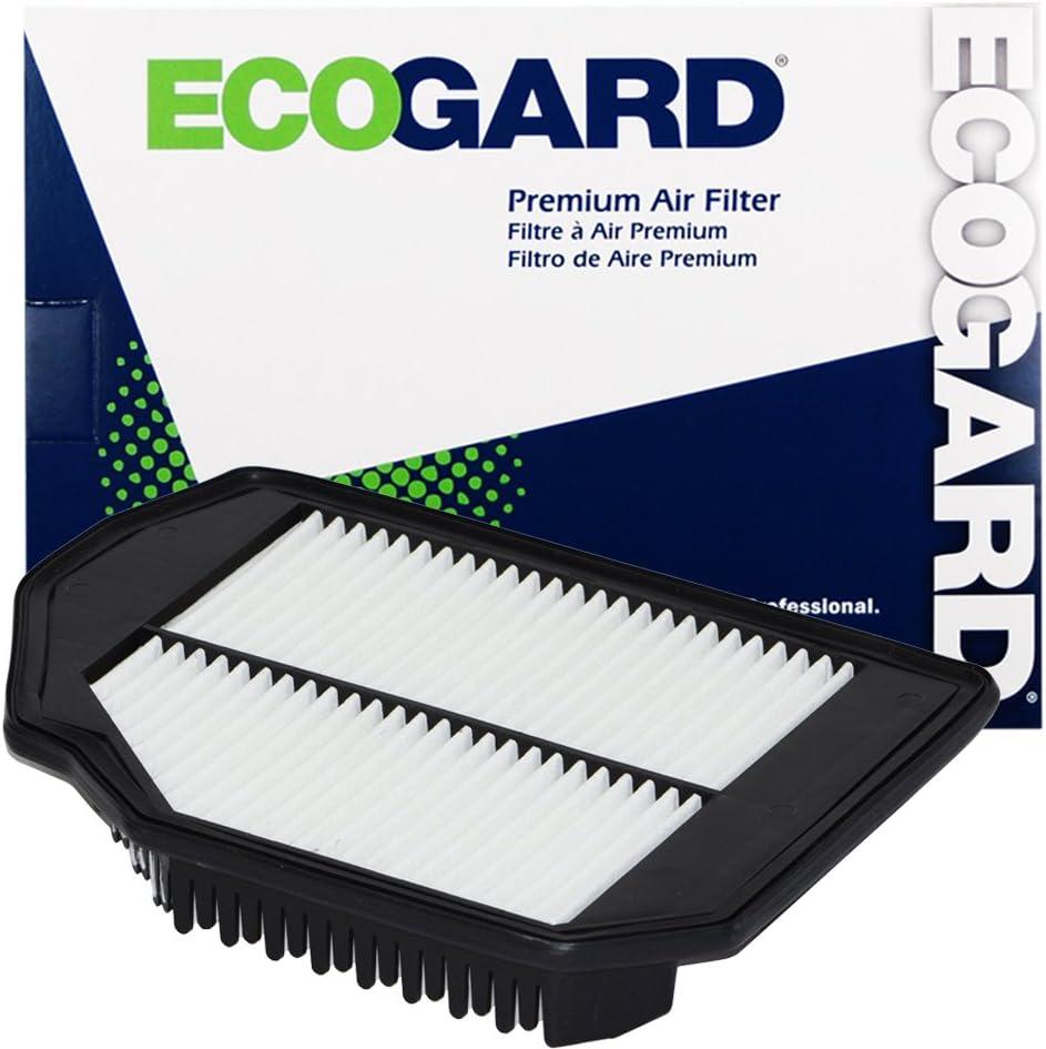 ECOGARD XA10473 Premium Engine Air Filter Fits Genesis G80 3.8L 2017-2019 | Hyundai Genesis 3.8L 2015-2016, Genesis Coupe 3.8L 2016