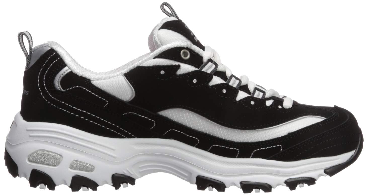Skechers Women's D'Lites Memory Foam Lace up Sneaker