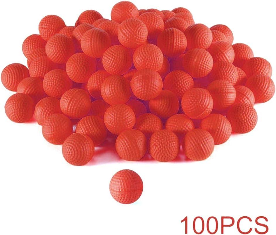 FuYouTa Bolas para Nerf Rival Blasters Recarga de Balas municiones de Bolas Compatible para Nerf Rival Apollo Juguete para niños para niños 100 Piezas