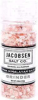 product image for Jacobsen Salt Co. Pink Himalayan Salt Loaded Grinder, 4.9 Ounce