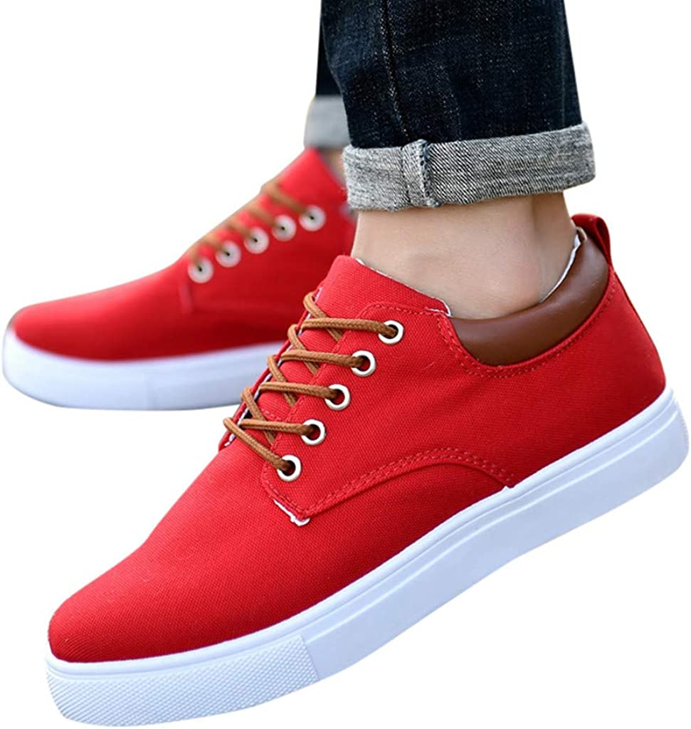 Tout Assorties Chaussures de Bureau Chaussure Basse SHOBDW Mocassins Chaussures Hommes de Loisirs /étudiants Toile Respirant Chaussures de Sport Petites Blanches