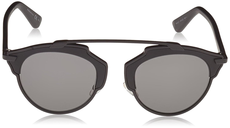 Dior DIORSOREAL LY RLS 48 Gafas de sol, Negro (Matte Black ...