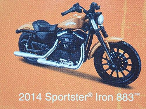 2014 SPORTSTER IRON 883 HARLEY DAVIDSON MOTORCYCLE MAISTO SERIES 34 1/18 MODEL