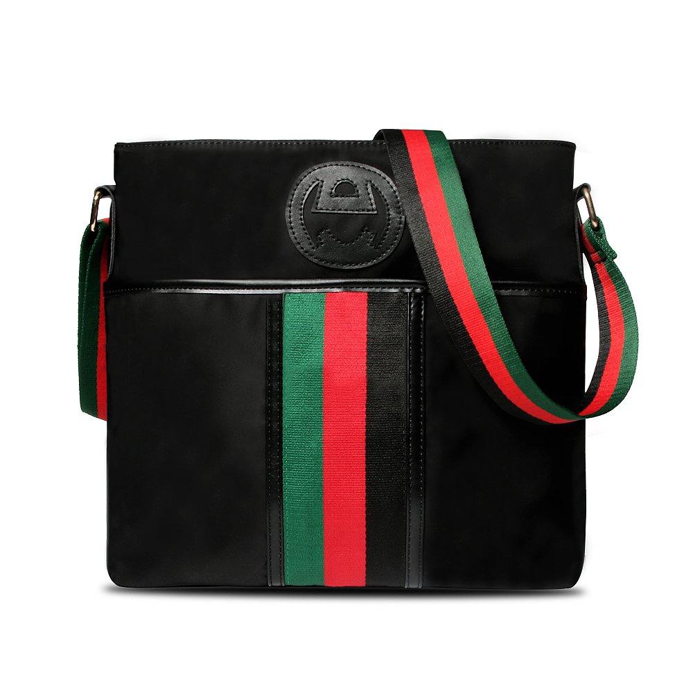 Olyly Women's Lightweight Travel Everyday Crossbody Bag,Mutil-Pocket Nylon Shoulder Handbag