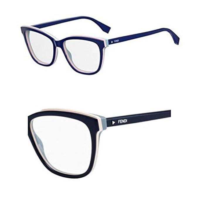 Fendi FF 0251 PJP 54, Gafas de sol para Mujer, Azul (Blue ...