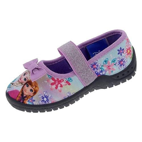 sale retailer a6dfe a714d Hausschuhe Kinder Mädchen Canvas Gummisohle Klettverschluss ...