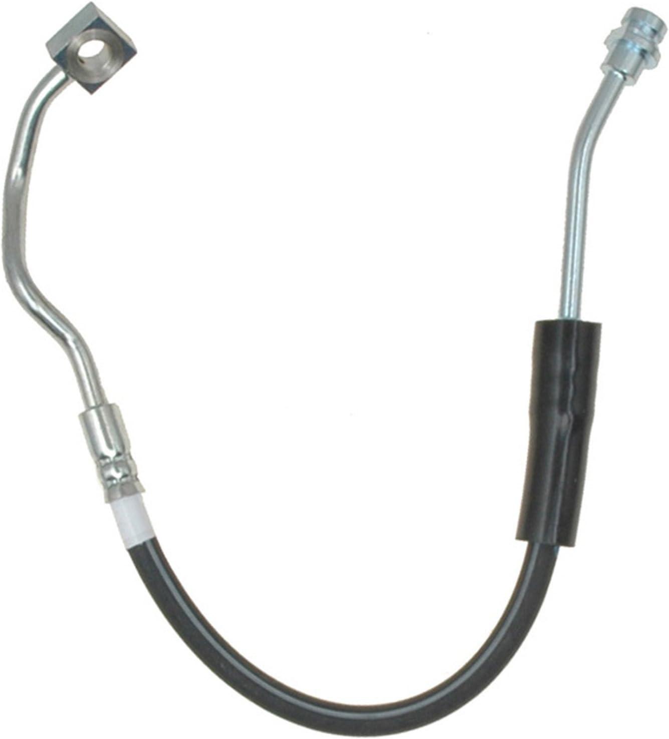 Pro Braking PBK5014-TRD-BLA Front//Rear Braided Brake Line Transparent Red Hose /& Stainless Black Banjos