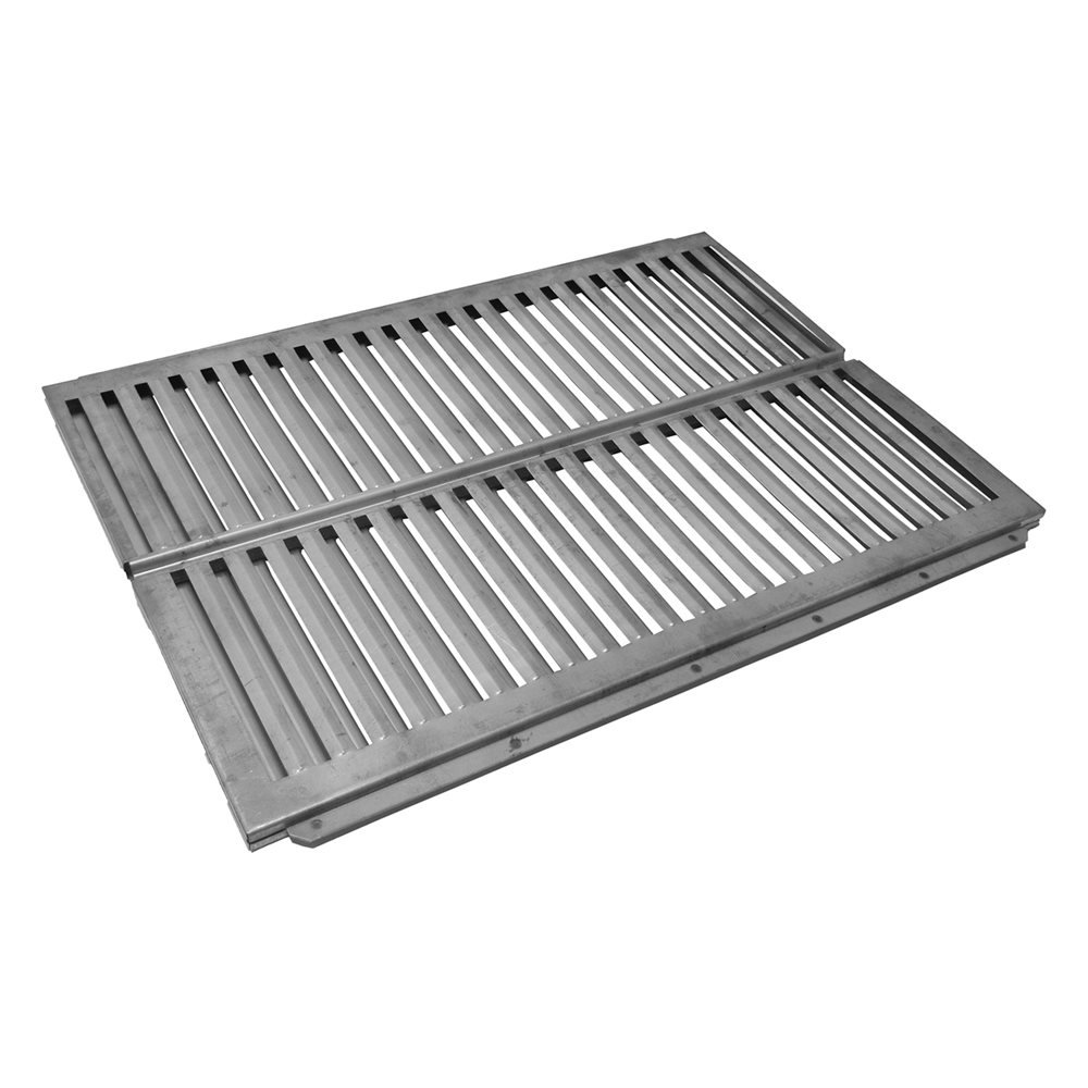 Music City Metals 99621 Stainless Steel Heat Plate Replacement for Select Ducane Gas Grill Models