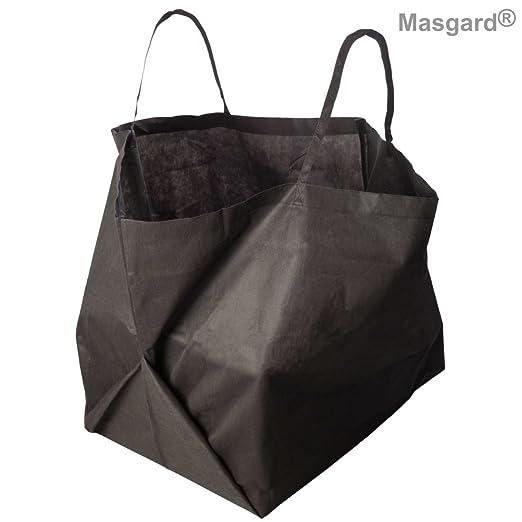 5 x transpirable Saco de jardín Compost Saco 343 L también se puede utilizar como compostador: Amazon.es: Jardín