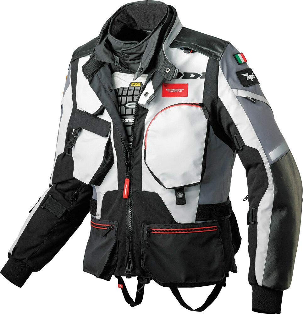 Spidi H.T Raid Pro H2Out Offroad Street Motorcycle Racing Jacket Large $899 MSRP