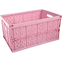 TOPBATHY Multifunctional Folding Portable Storage Basket Collapsible Storage Box Container Kitchen Fruit Vegetable Basket 45 x 30 x 23.5 cm