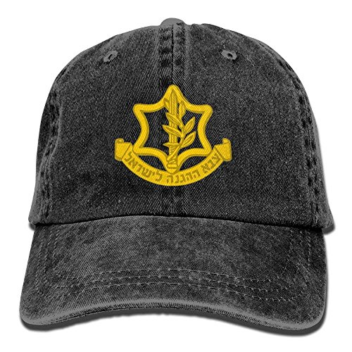 WCMBY Fashion Baseball Caps Hats IDF Israeli Defense Force Logo Unisex Adult Adjustable Jeans Dad (Sox Force Polo)