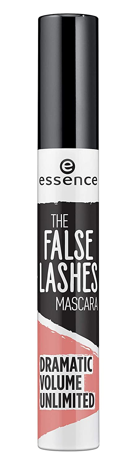 essence | The False Lashes Mascara Extreme Dramatic Volume Unlimited | Cruelty Free - Black