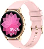 YAMAY Smart Watch Compatible iPhone and Android Phones IP68 Waterproof, Watches