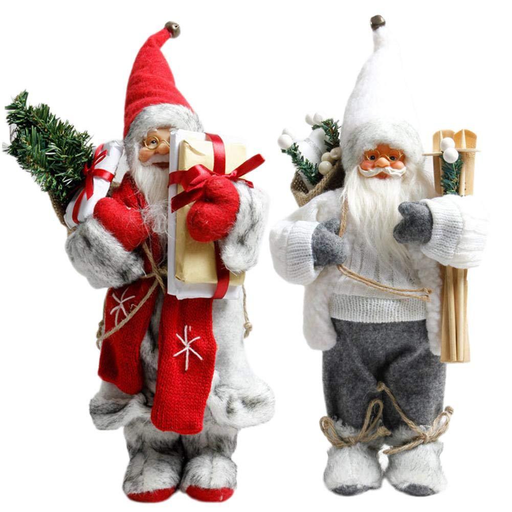 Decorazioni Natalizie per Bambole di Peluche di Babbo Natale Regali di Natale Raspbery Decorazioni Natalizie Decorazioni per Le Vacanze di Natale Great Giocattoli per Bambini