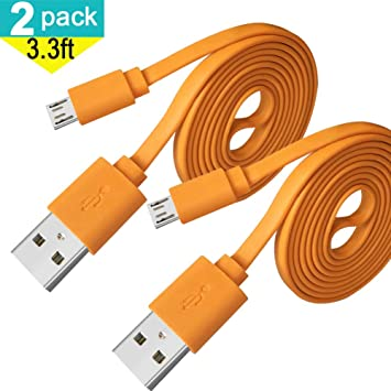 with Power Connect to Any Compatible USB Accessory with MicroUSB PRO OTG Power Cable Works for JBL Clip