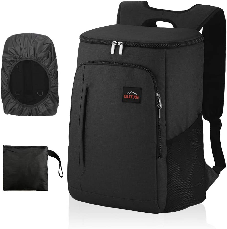 OUTXE Cooler Backpack Insulated Cooler Bag for 14 laptops Lunch Backpack
