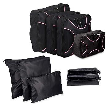 Amazon.com: navaris 9 x Pack Juego de bolsa para veliz en ...