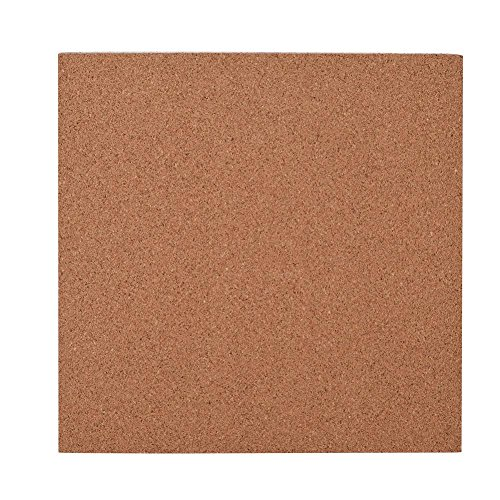 Yosoo- 2PCS 300 x 300 x 3mm Cork Sheets Heated Bed Hot Plate with Adhesive Tape for 3D Printer by Yosoo-