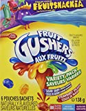 Betty Crocker Gushin Grape/Strawberry Gushers, 6-Count, 138 Gram