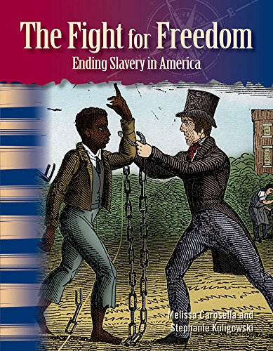 Teacher Created Materials - Primary Source Readers: The Fight for Freedom - Ending Slavery in America - Grade 5 - Guided