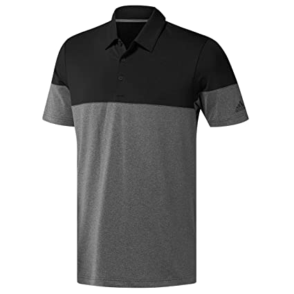 outlet store 765a7 f42e0 adidas Golf 2019 Mens Ultimate 2.0 All-Day Novelty Short Sleeve Golf Polo  Shirt Grey