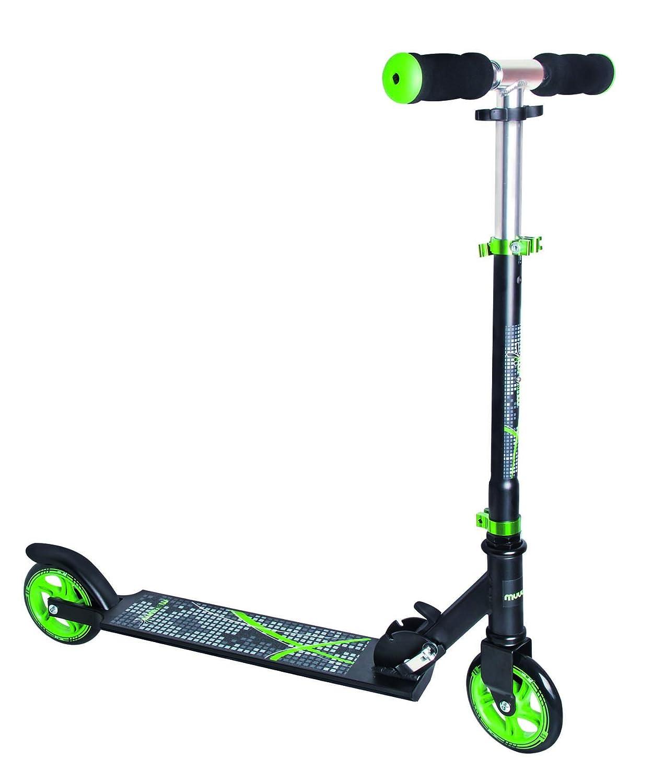 MUUWMI Aluminio 125mm Scooter, Negro de Color Verde, One Size AUTIK #authentic sports & toys GmbH 346