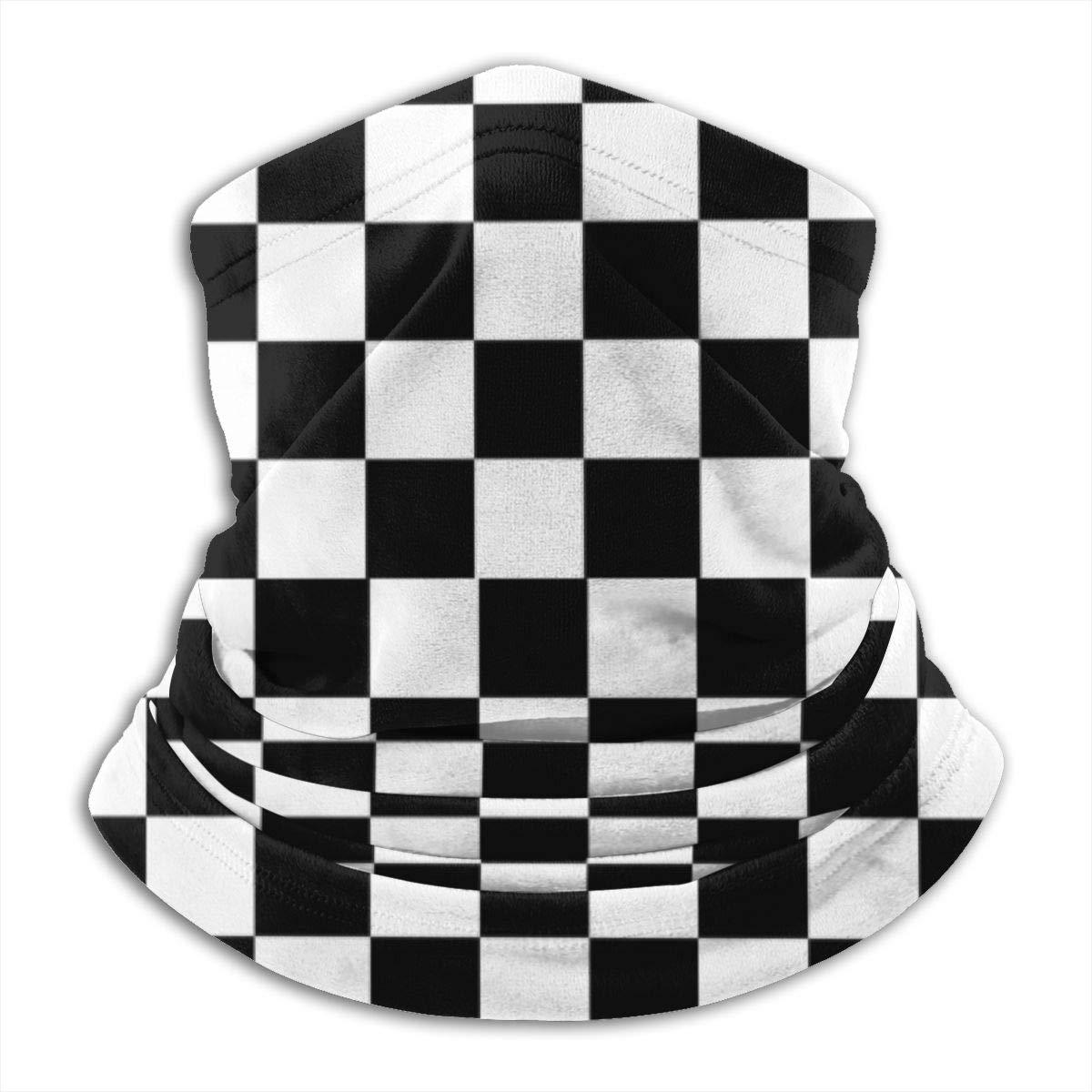 mittlere Schicht Schachbrettmuster FunnyStar Superweiche Thermo-Halsw/ärmer f/ür den Winter f/ür Wandern Motorradfahrer Laufen