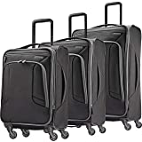 American Tourister 4 Kix Expandable Softside Luggage with Spinner Wheels