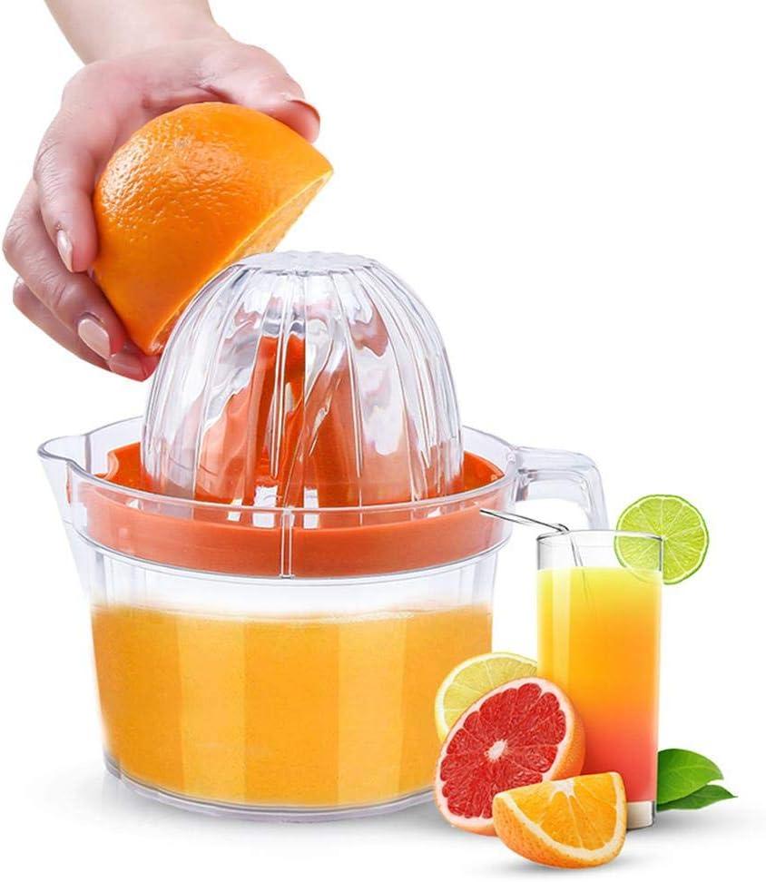 Compra Volwco Exprimidor de cítricos y limón de limón Naranja, Prensa Manual con rallador y Taza de medición integrada, Material de Polipropileno de Grado alimenticio, sin BPA, Apto para lavavajillas en Amazon.es