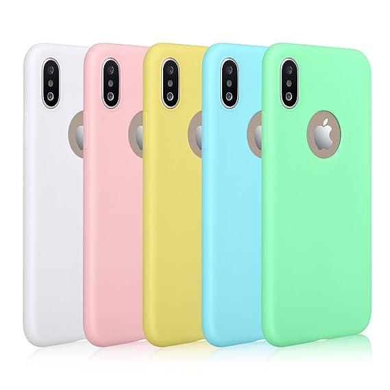 d4e8a217d Amazon.com: iPhone X Case, Pofesun Slim Fit Flexible Silicone TPU ...