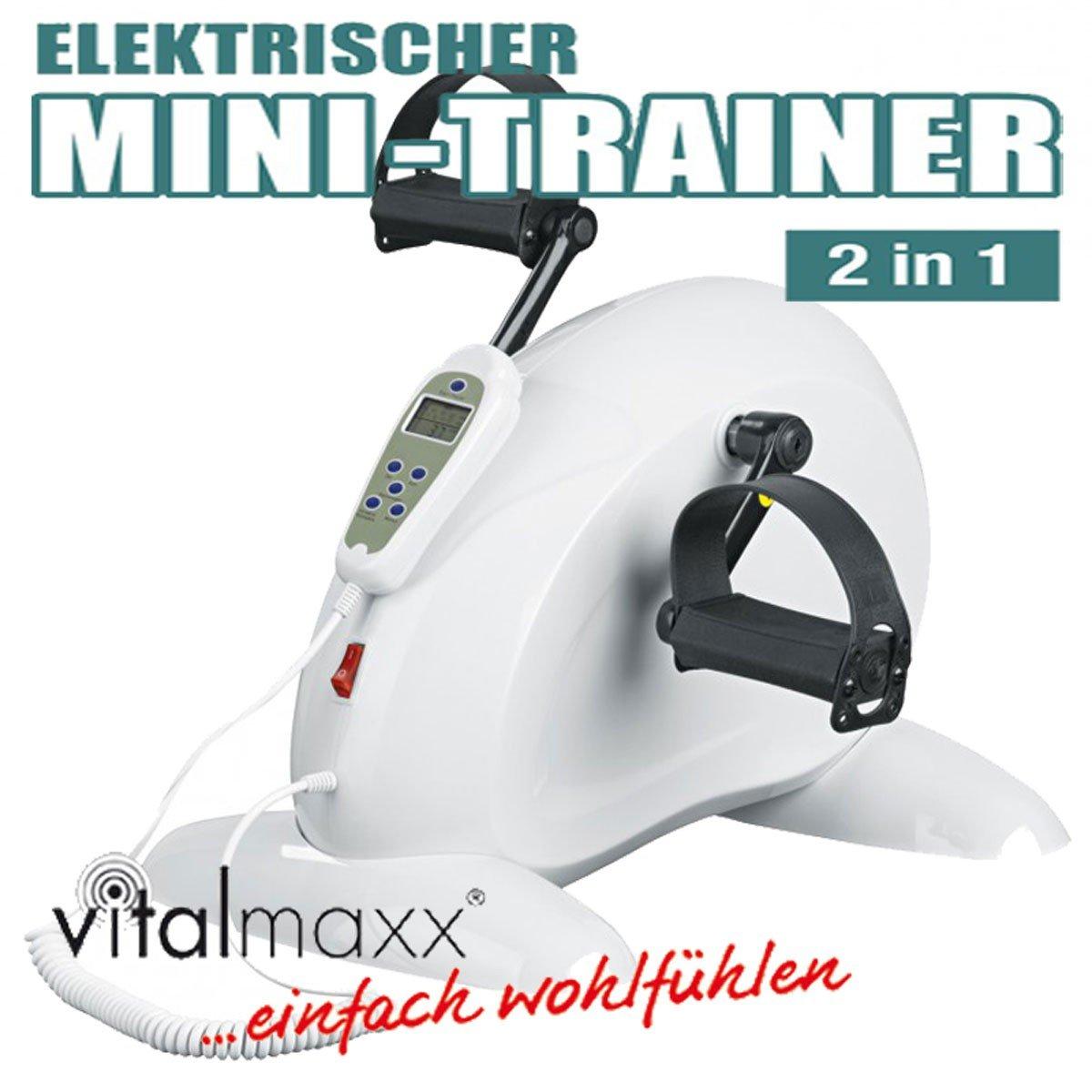 TV Unser Original vitalmaxx Mini-Trainer elektrisch Heimtrainer ...