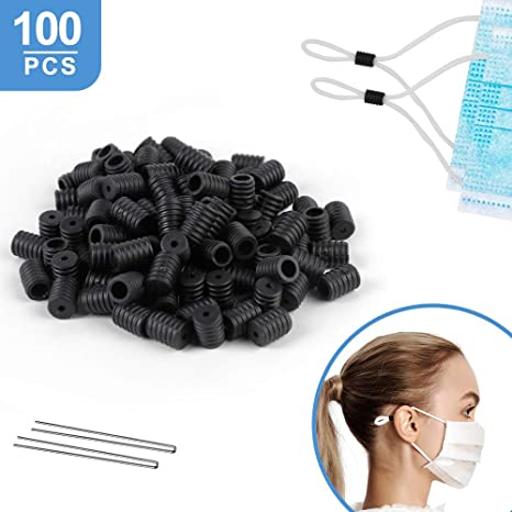 Amazon Com Witalent 100pcs Cord Locks Toggles For Drawstring