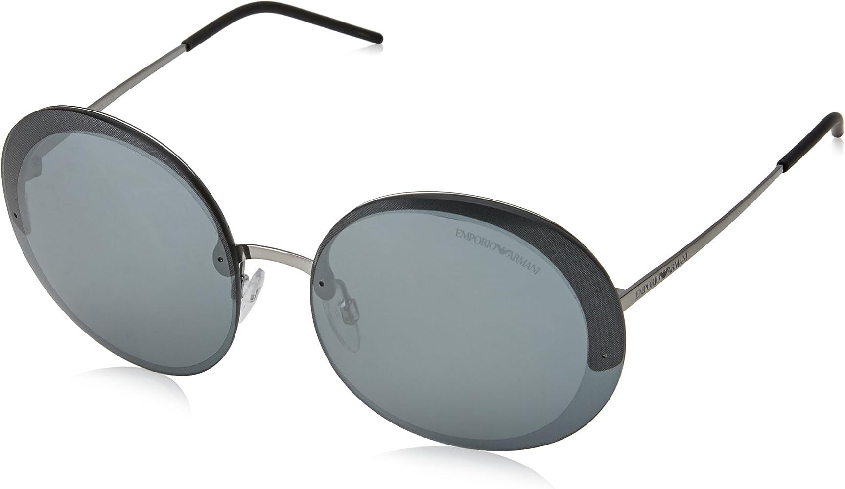 54a8b3f198 Emporio Armani Earmani 2044 Gafas de sol, Gunmetal 30106G, 61 Unisex-Adulto