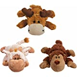 KONG Cozie Monkey Naturals Dog Toy, Small