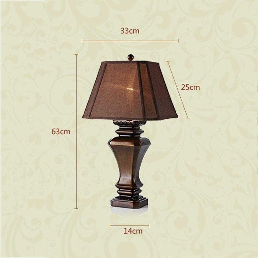 Lámparas de mesa americanas de la vendimia Lámpara de escritorio ...