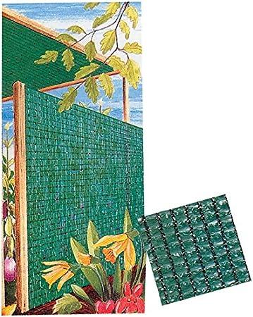 MALLA OCULTACION NATUUR POLIETILENO VERDE 4X5MT VERDE 4X5MT: Amazon.es: Jardín