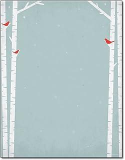 Amazon.com: Birch Tree Letterhead & Envelopes - 40 Sets: Office ...