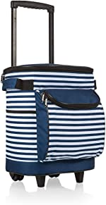 ONIVA - a Picnic Time Brand Insulated Portable Rolling Cooler on